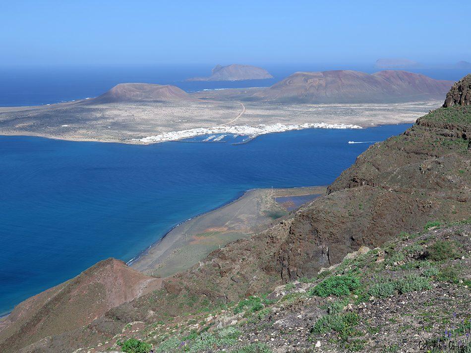 Playa del Risco - La Graciosa - Lanzarote - Archipiélago Chinijo