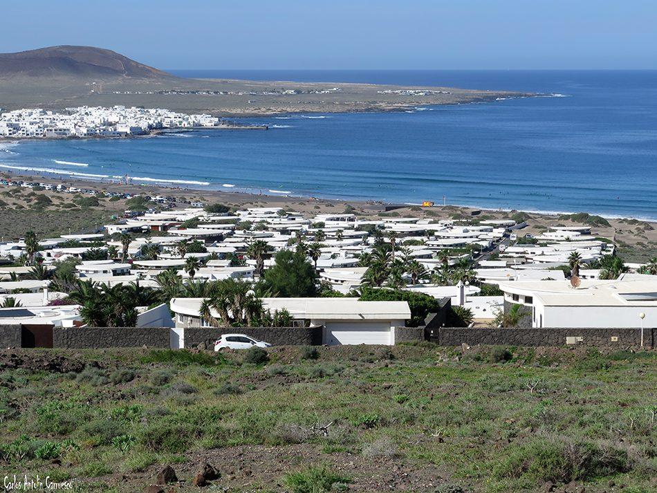 Los Noruegos - Caleta de Famara - Playa de Famara - Lanzarote