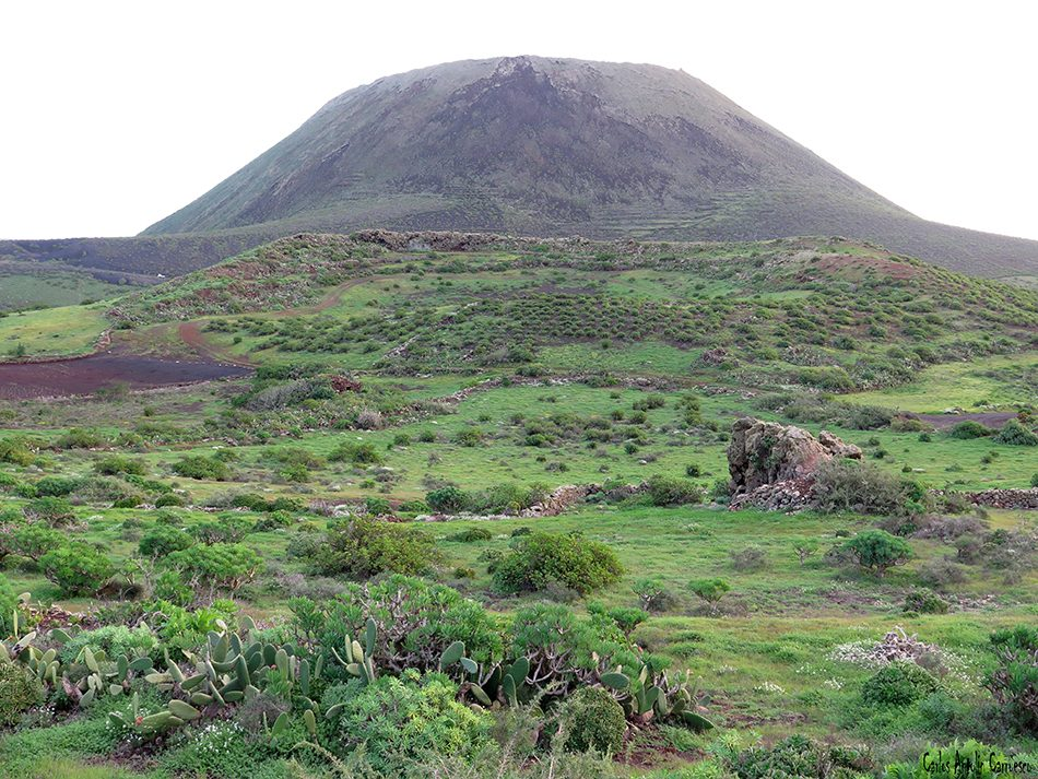 Guinate - Camino de Gayo - Lanzarote - Volcán de La Corona