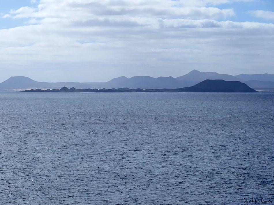 Punta Papagayo - Lobos - Fuerteventura - isla de Lanzarote
