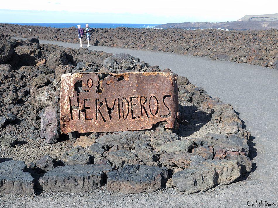 Los Hervideros - Lanzarote