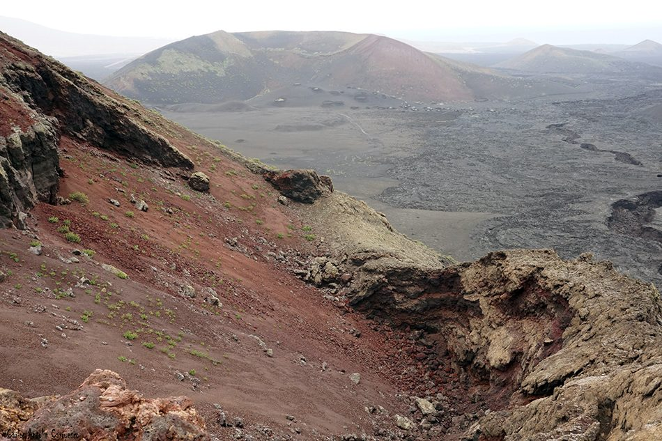Volcán Termesana - Ruta Termesana - Timanfaya - Lanzarote