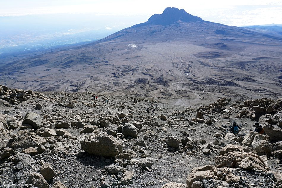 Rongai - Tanzania - Kilimanjaro - Mawenzi - Volcán Kibo