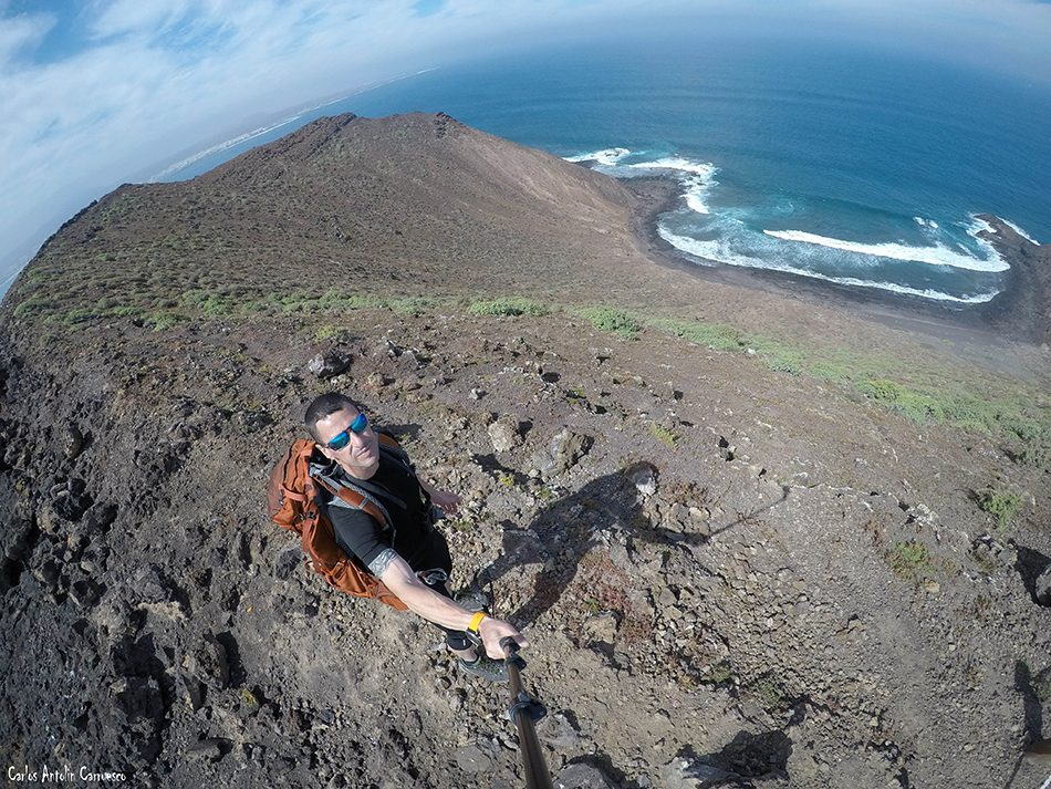 La Caldera de la Montaña - Islote de Lobos - Fuerteventura