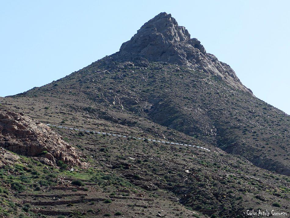 Barranco de las Peñitas - Vega de Río Palmas - Fuerteventura - pico del muda