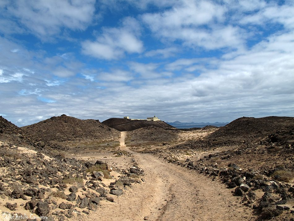 Islote de Lobos - Lanzarote - Fuerteventura - faro de martiño