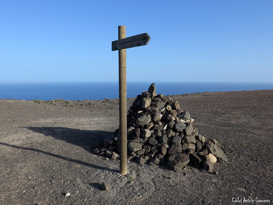 Pecenescal - Fuerteventura - degollada de pecenescal