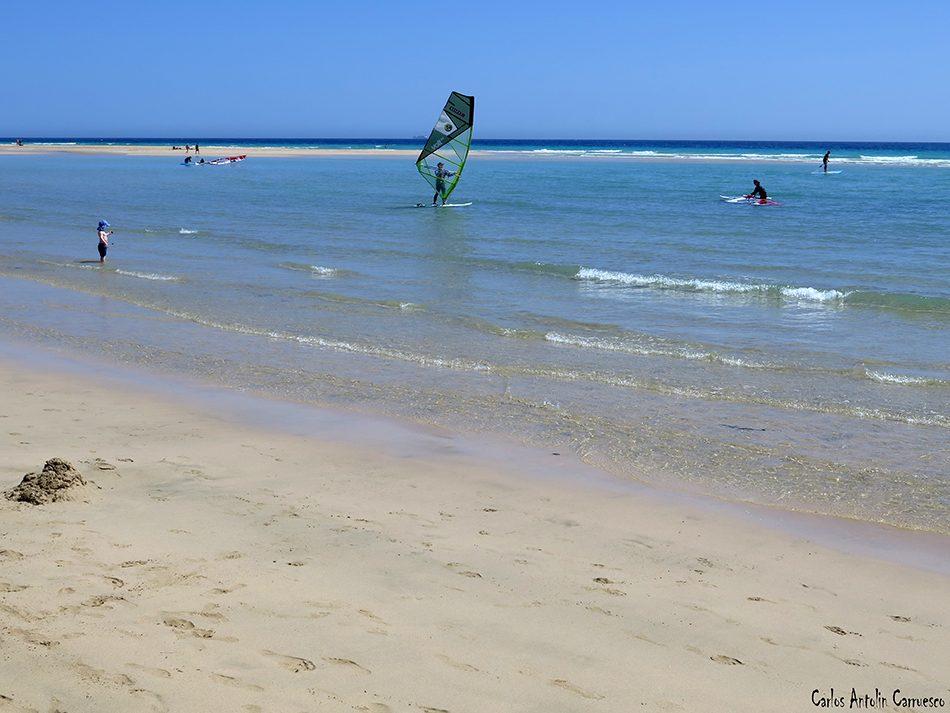 Playa Risco el Paso - Playa de Sotavento de Jandía - Fuerteventura