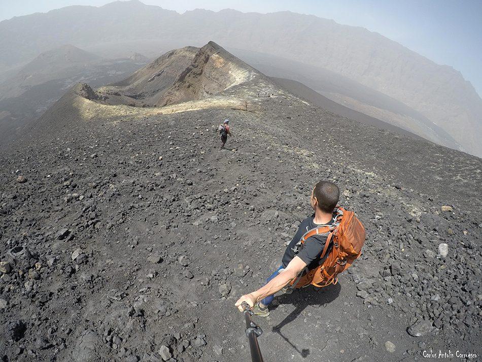 Chã das Caldeiras - Fogo - Cabo Verde - pico pequeno