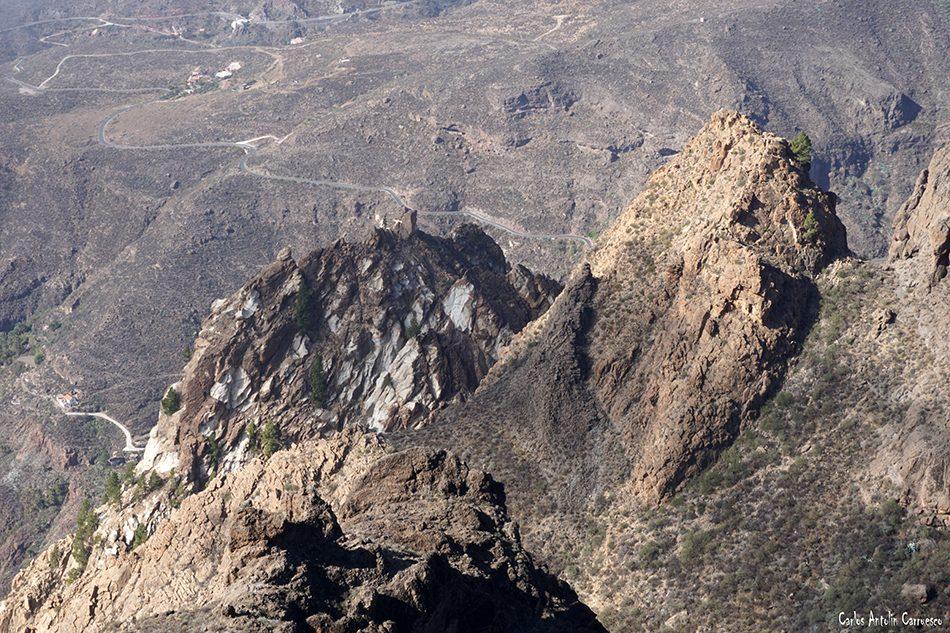 Mesa de Las Vacas - Risco Blanco - Gran Canaria