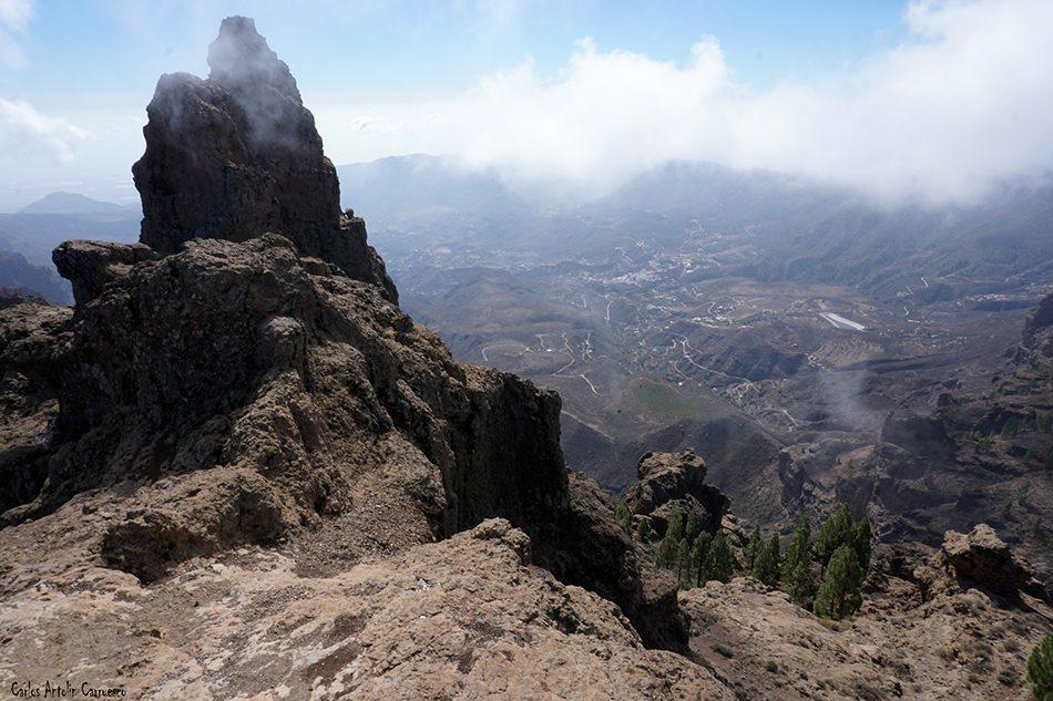 Morrón de La Agujereada (1.958 metros de altitud) - Pico de Las Nieves - Gran Canaria