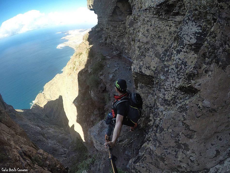 El Paso de La Piedra - Faneque - Gran Canaria