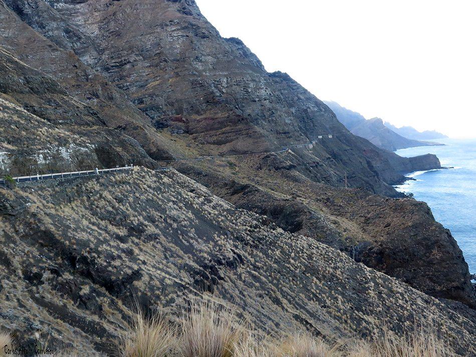 Carretera GC200 - Risco Faneque - Gran Canaria
