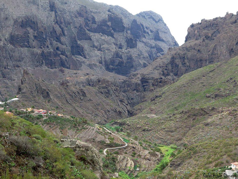 Madre del Agua - Masca - Tenerife - los gigantes