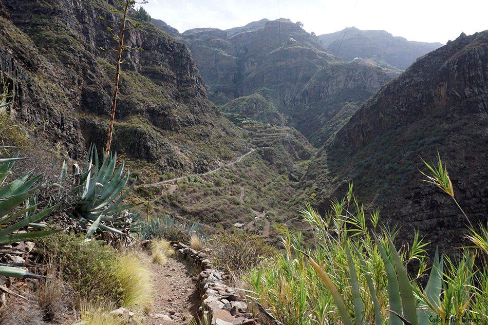 Tamadaba - Agaete - Gran Canaria - el sao - el hornillo