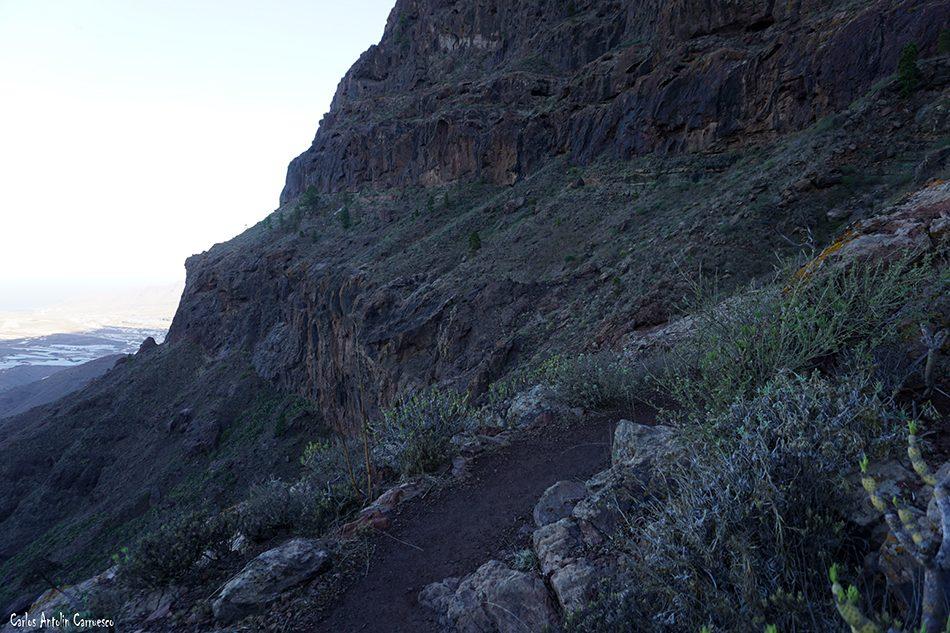 Inagua - Degollada de Tasarte - Gran Canaria