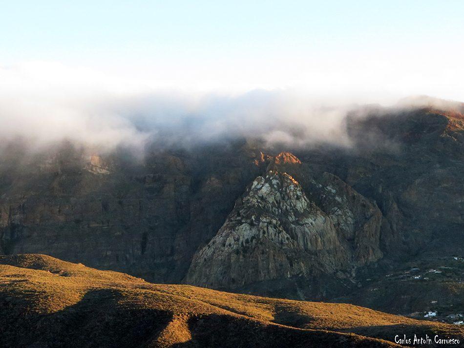 Tunte - Riscos de Tirajana - Gran Canaria - risco blanco - San Bartolomé de Tirajana