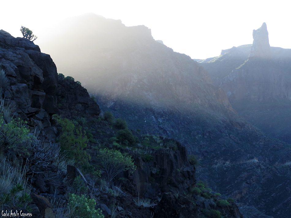 Roque Palmés - Barranco de Tejeda - Gran Canaria