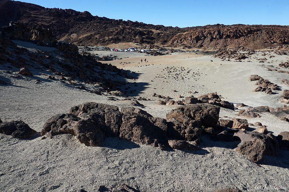 Minas de San José - Parque Nacional del Teide - Tenerife - montaña rajada