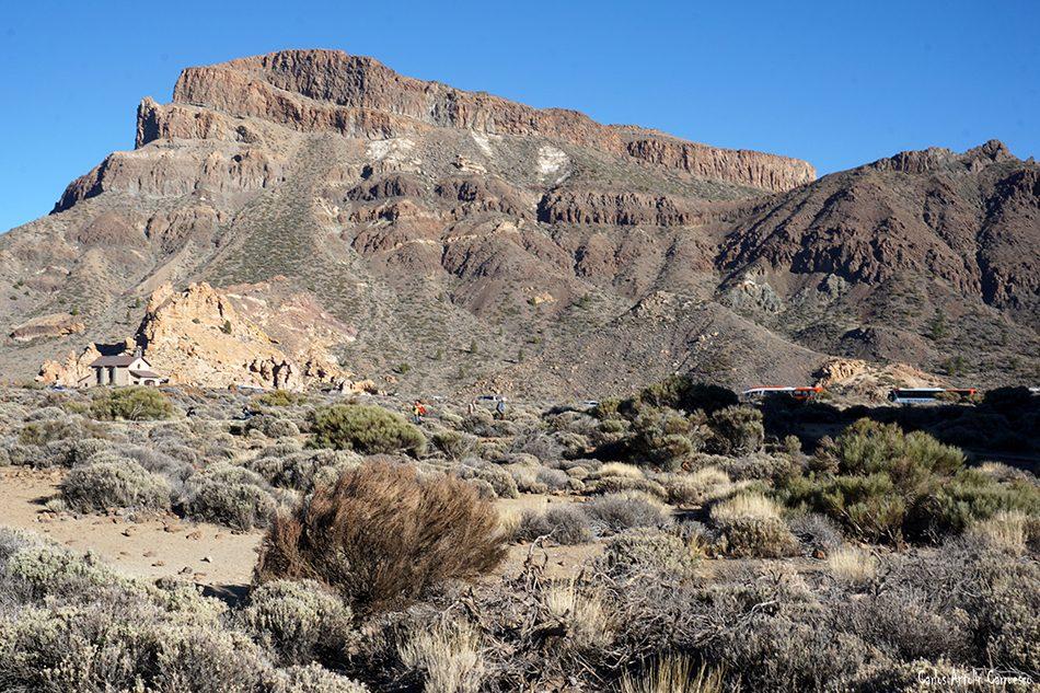 Guajara - Parque Nacional del Teide - Tenerife - parador nacional del teide