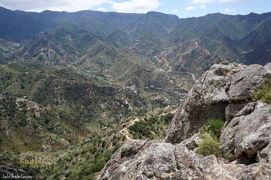 Vallehermoso - Roque Cano - La Gomera