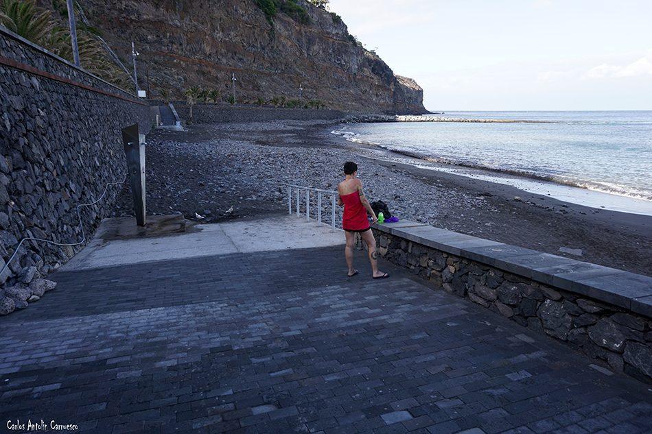 Playa de La Cueva - San Sebastián de La Gomera