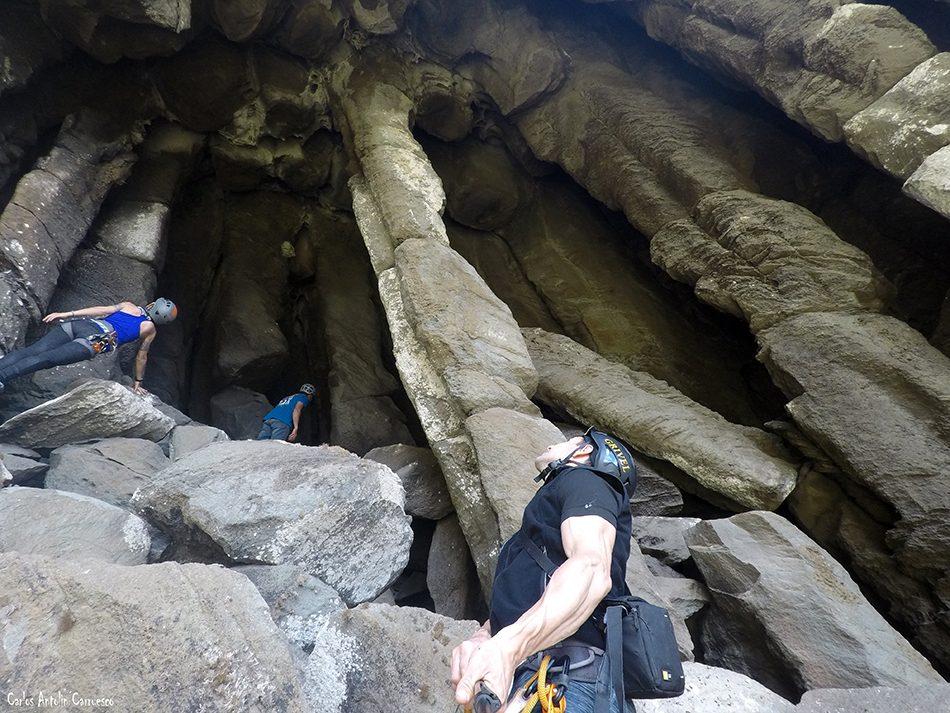 Roque Cano - Cueva de Los Telares - La Gomera