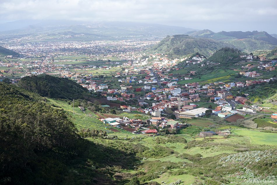 La Laguna - Mirador de Jardina - Tenerife