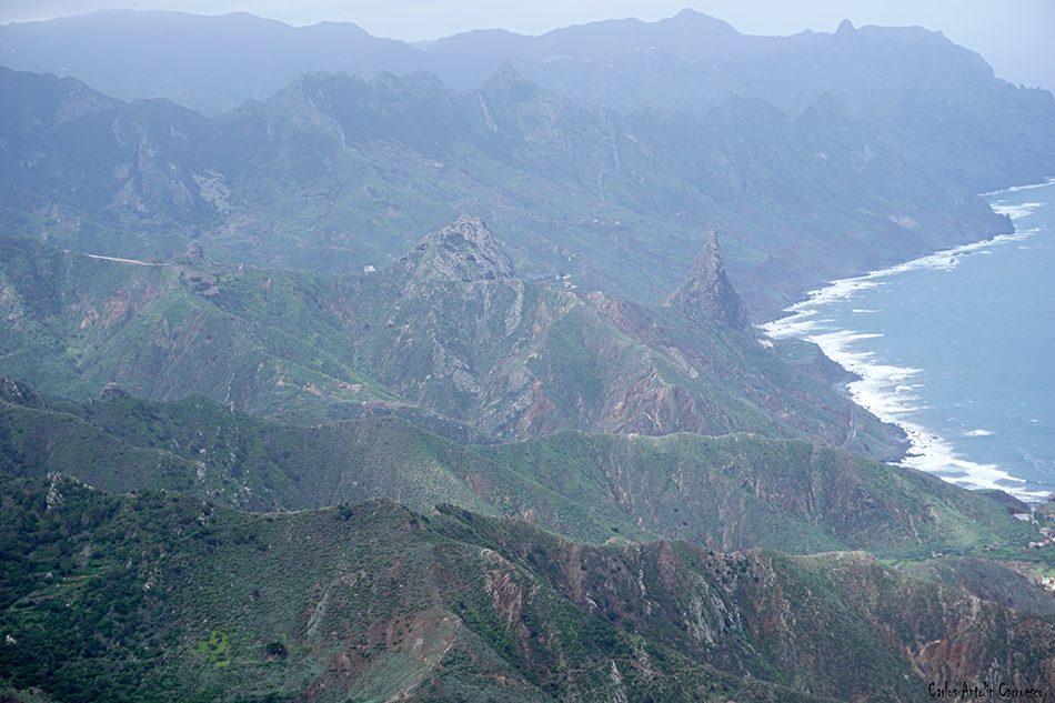 Cabezo del Tejo - Anaga - Tenerife - las animas - enmedio - roques