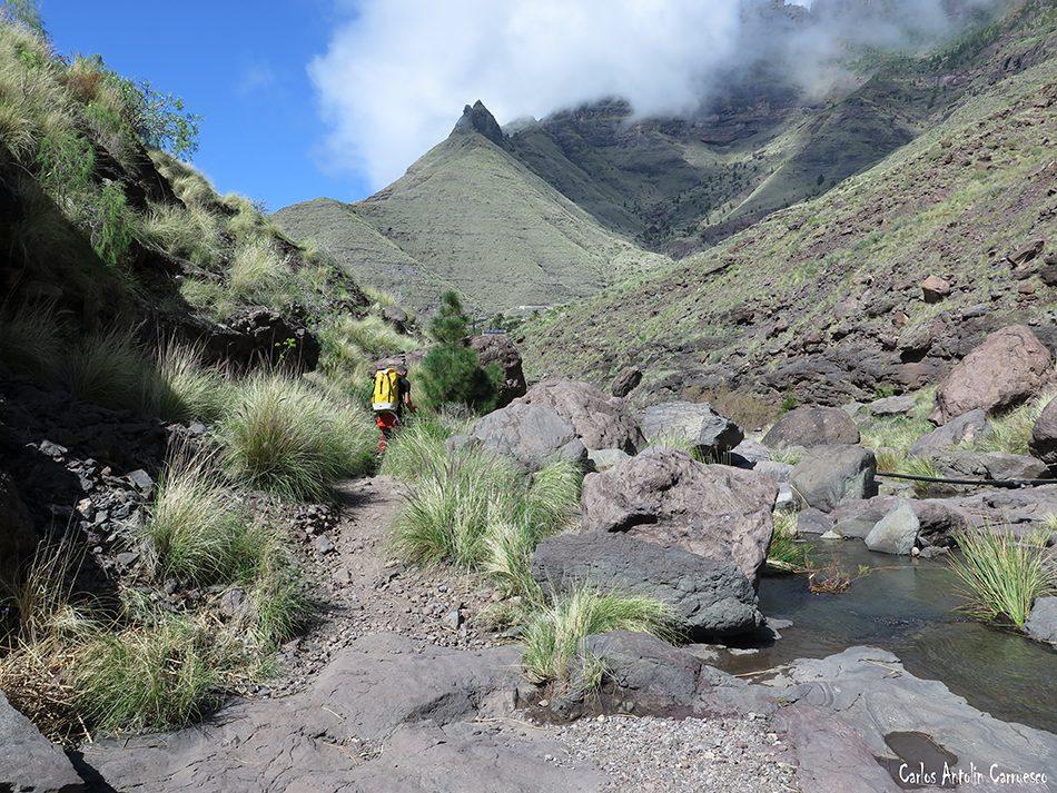 El Risco - El Palmar Inferior - El Charco Azúl - Gran Canaria