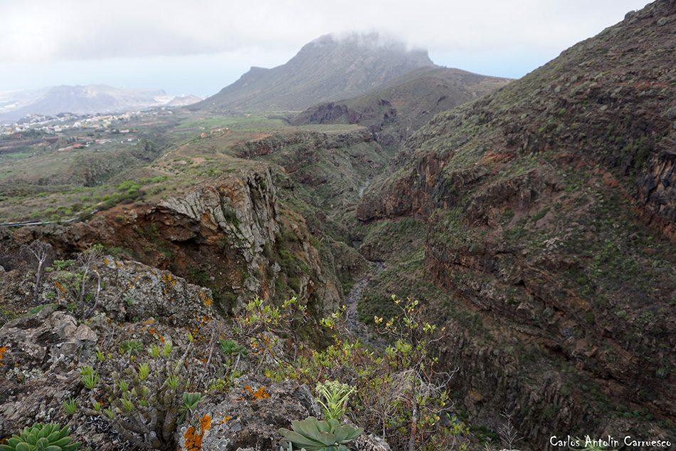 Ifonche - Barranco del Rey - Tenerife - Roque del Conde