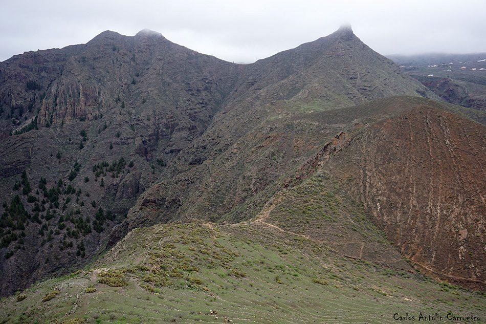 Roque del Conde - Tenerife - montaña de suarez - gr131