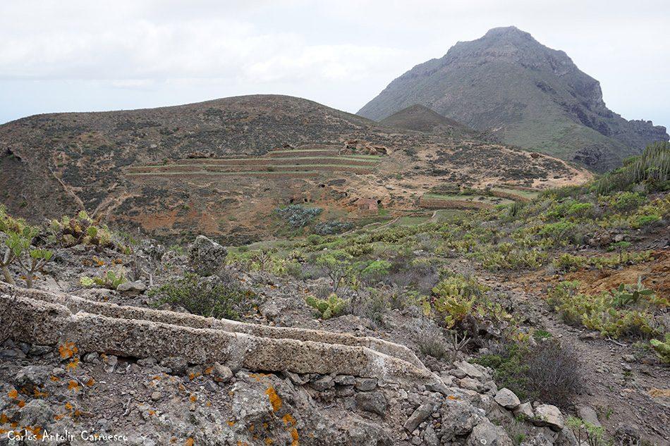 Camino de Suarez - GR131 - Tenerife - roque del conde