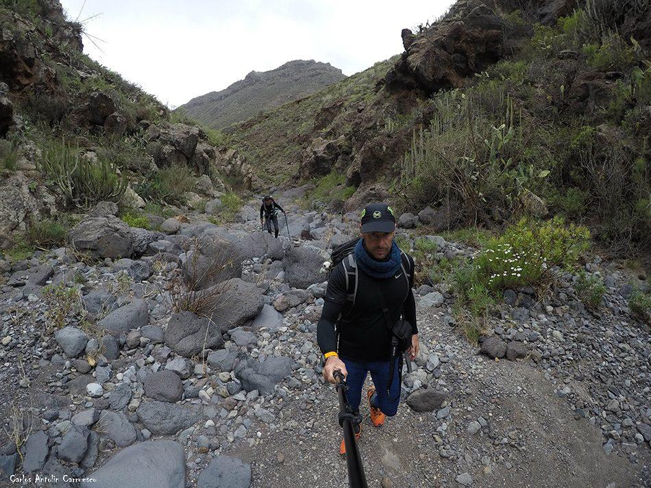 Camino del Topo - Roque del Conde - Tenerife- barranco del rey