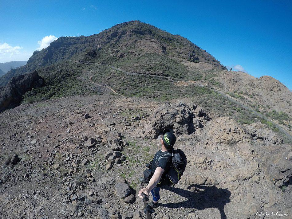 Montaña de Tauro - Soria - Gran Canaria - salto del perro