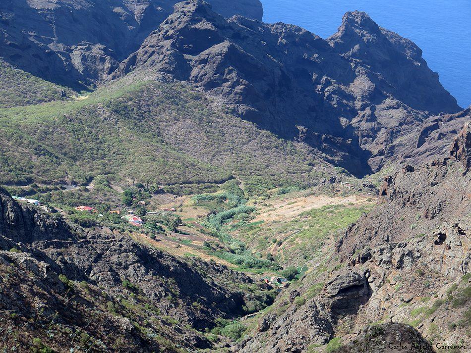 Los Carrizales - Teno - Tenerife<br/>Cumbres de Abache