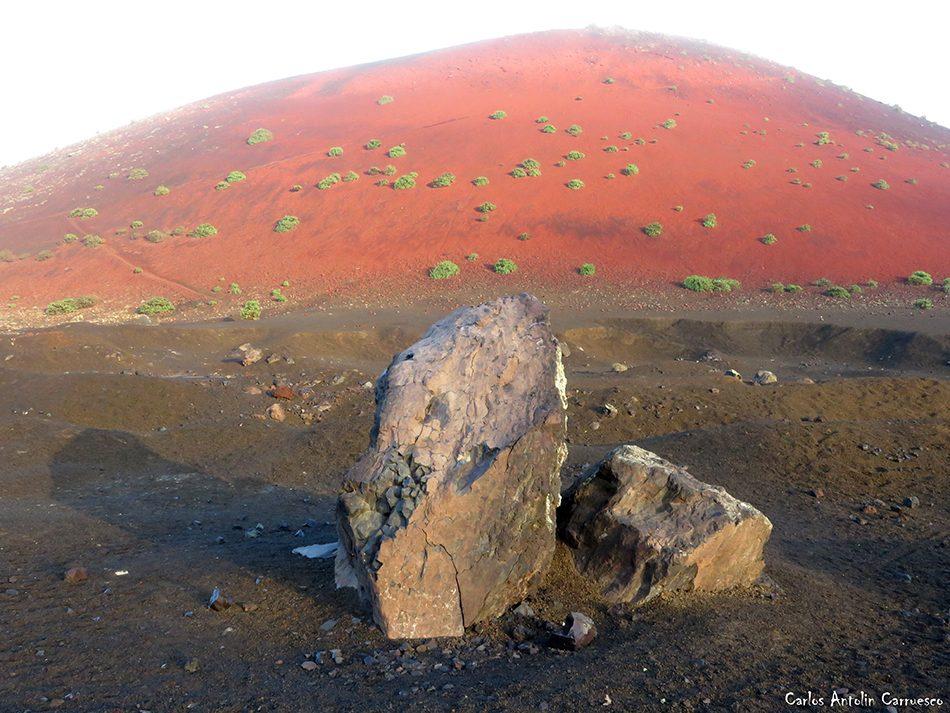 Parque Natural de Los Volcanes - Montaña Colorada - Lanzarote
