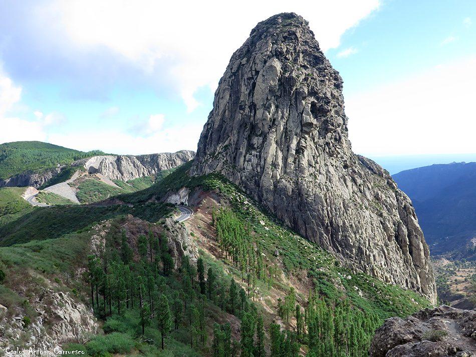 Roque Agando - GR131 - La Gomera