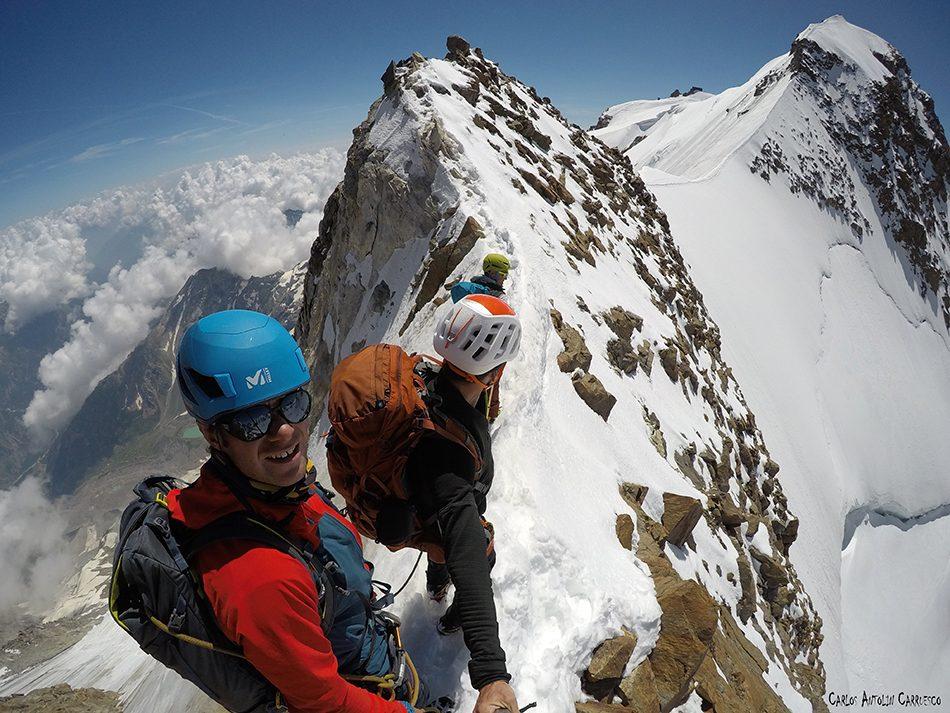 Dufourspitze - Zumsteinspitze - Monte Rosa
