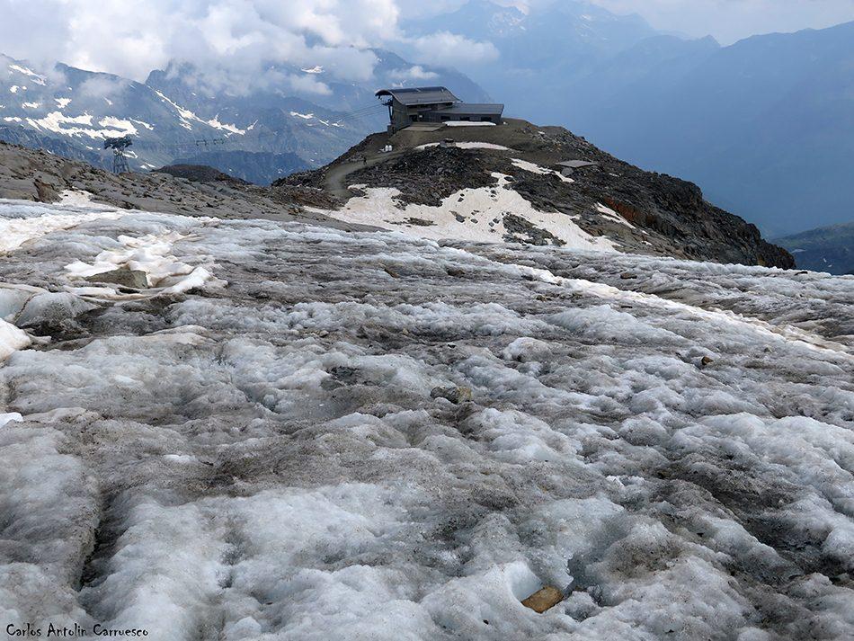 Punta Indren (3.275 metros de altitud) - Dufourspitze