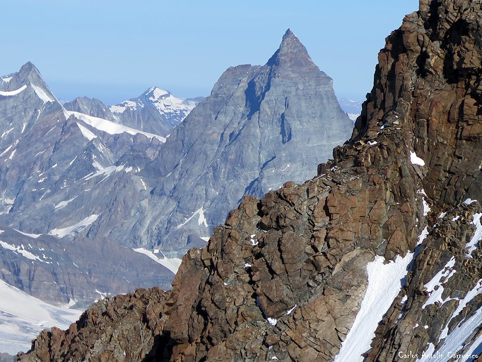 Dufourspitze - Monte Rosa - Cervino