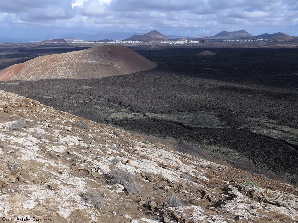 Caldera Blanca - Timanfaya - Lanzarote