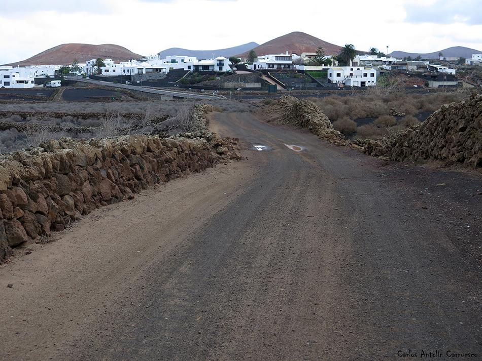 Caldera Blanca - Timanfaya - Lanzarote - Tinajo - Mancha Blanca