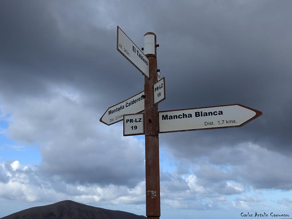Caldera Blanca - Timanfaya - Lanzarote - Mancha Blanca - Tinajo