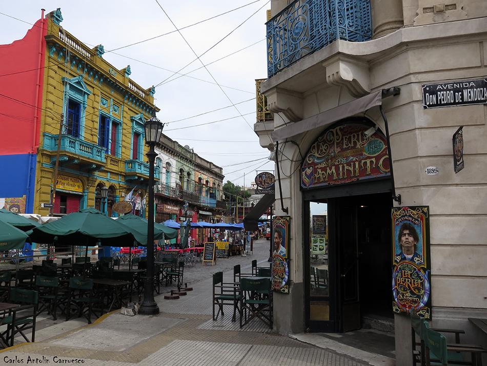 Buenos Aires - barrio de La Boca - Argentina