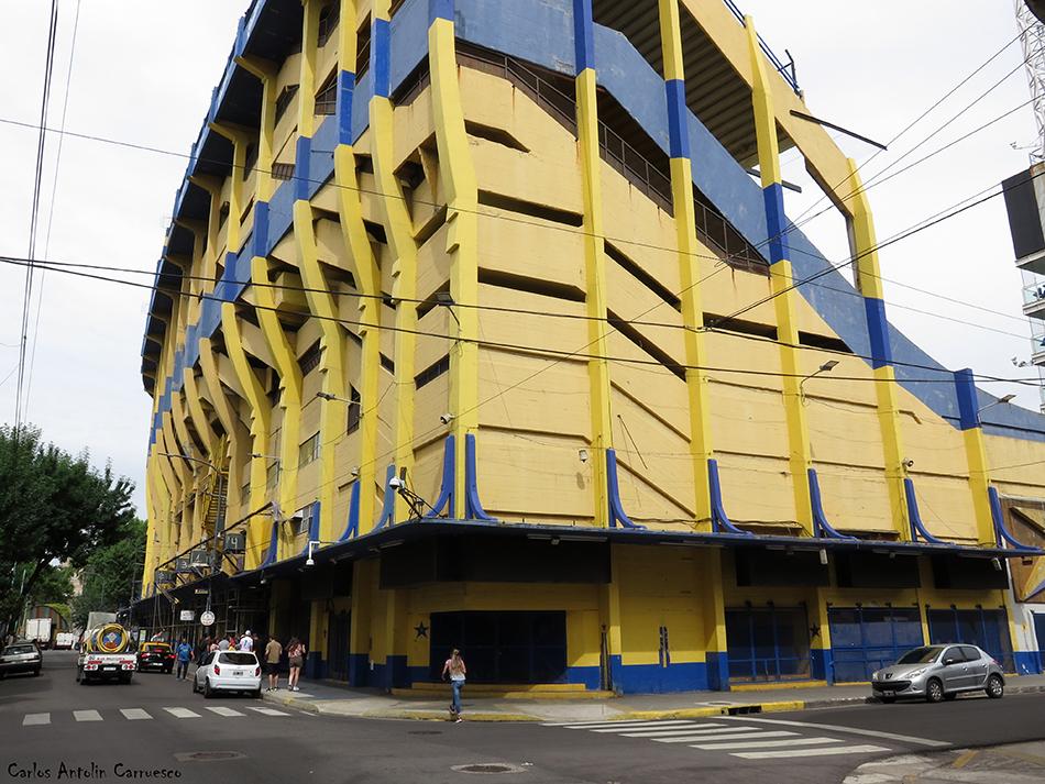 Buenos Aires - Argentina - Club Atlético Boca Juniors - La Bombonera