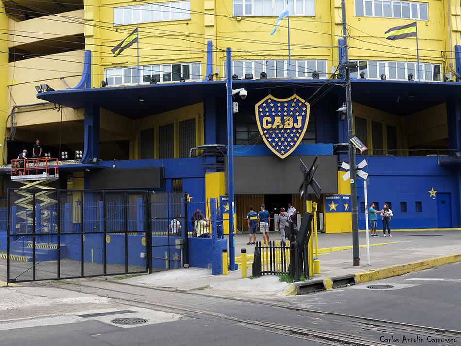 Buenos Aires - La Bombonera - Argentina - Club Atlético Boca Juniors