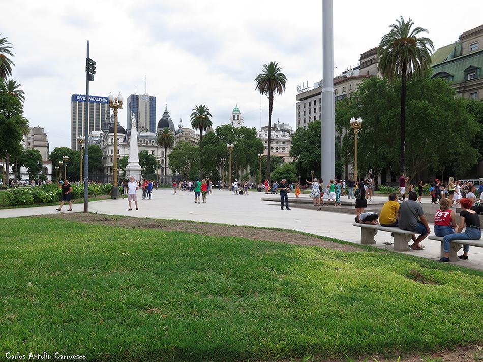 Buenos Aires - Plaza de Mayo - Argentina